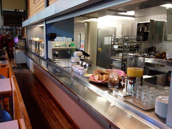 Jugendherberge Bern: Buffet colazione