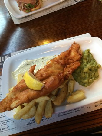 The Hub Alehouse and Kitchen : Lovley fish and chips