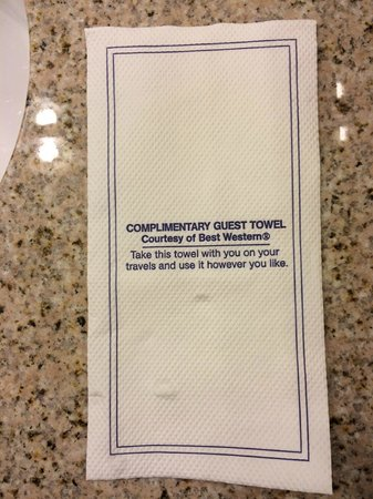 Best Western Premier Grand Canyon Squire Inn: Um, thanks?