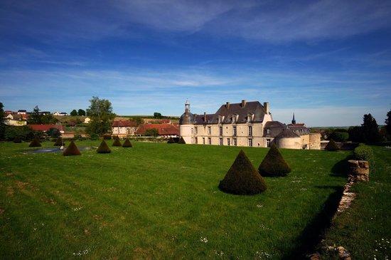 Château d'Etoges : Jardin