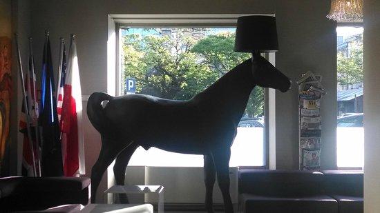 Kossak Hotel : The horse lamp