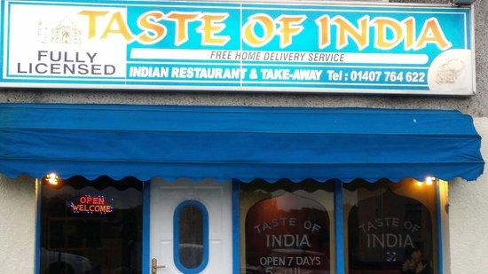 Taste of India: New look