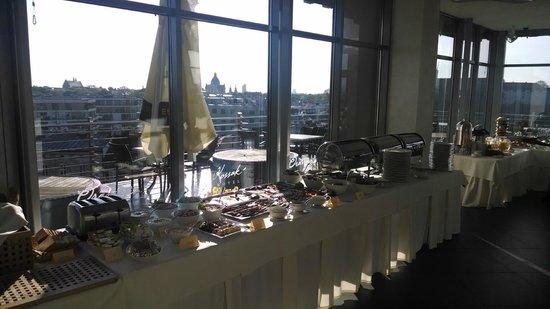 Kossak Hotel : Roof top cafe