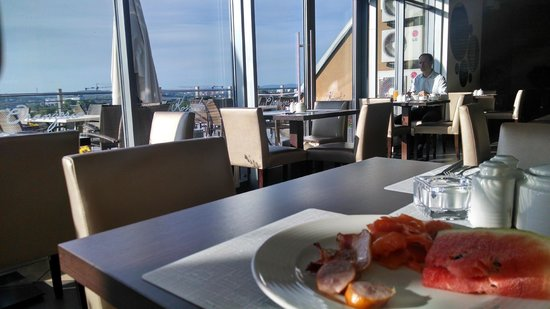 Kossak Hotel : Roof top dining