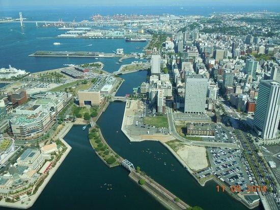 Yokohama Landmark Tower Sky Garden : Вид с площадки