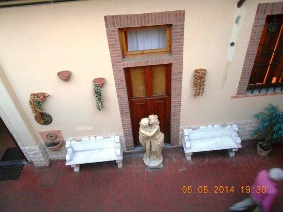 Hostel Archi Rossi: Innenhof