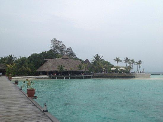 Komandoo Maldives Island Resort: View from the Jetty