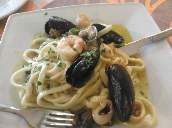 La Tramontana : Scialatielli di pasta fresca allo scoglio!!!!