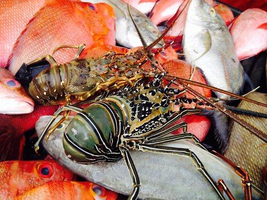 Hyatt Regency Kinabalu: Seafood bazar