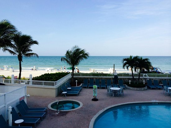 Lido Beach Resort: View from room 245