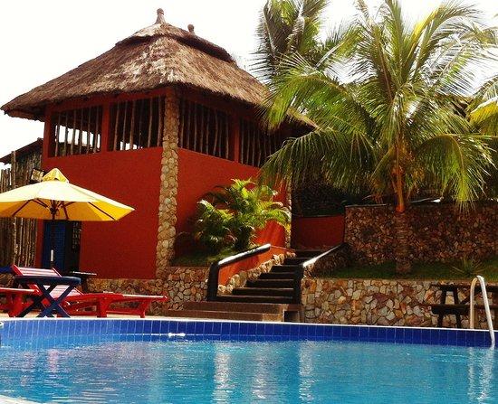 Aburi, Ghana: Poolside