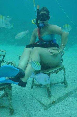Ocean Adventures Bavaro Splash : I made it to the bottom!!
