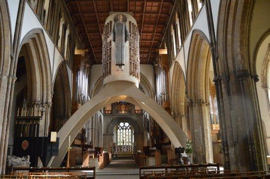 Llandaff Cathedral: interior