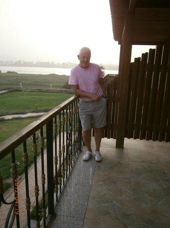Maritim Jolie Ville Kings Island Luxor : View from room balcony Block 7