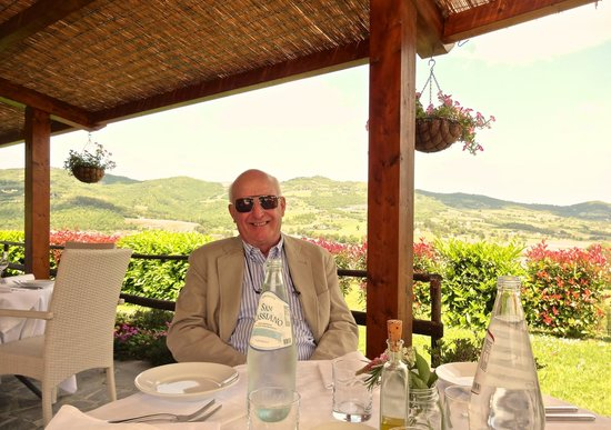 Ristorante Calagrana: Enjoying lunch al fresco at Calagrana