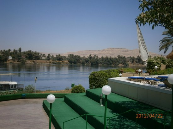 Maritim Jolie Ville Kings Island Luxor : View when having breakfast
