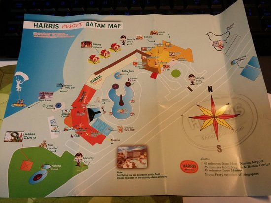Harris Resort Map Picture of HARRIS Resort Batam Waterfront