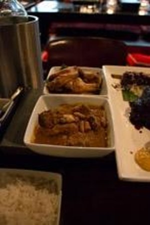 Chameleon Restaurant: Menu 1 + Rendang