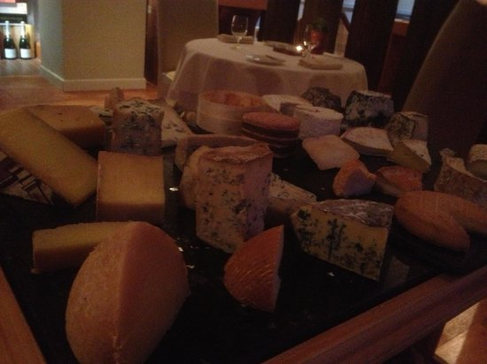 The Whitebrook: Cheese selection