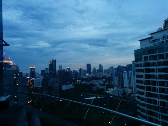 The Okura Prestige Bangkok : The view