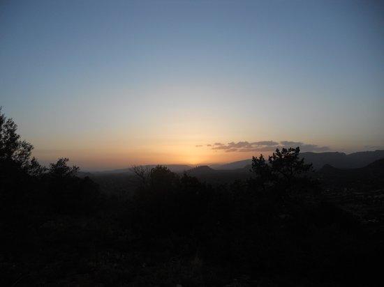 Sky Ranch Lodge: Sunset in Sedona