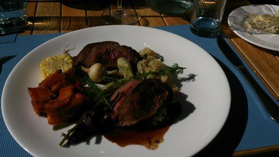 Fyndraai restaurant at Solms-Delta: Springbok