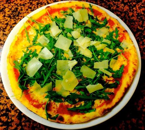 Gasthof Rustical: Pizza Rucola e Grana