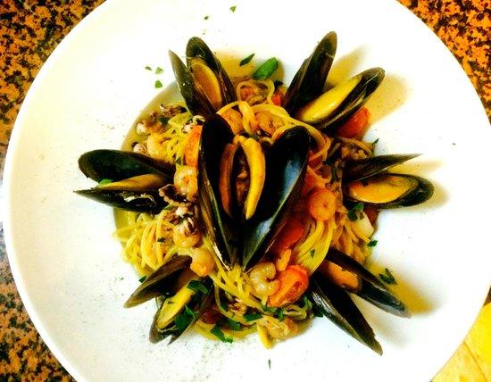 Gasthof Rustical: Spaghetti Frutti di Mare