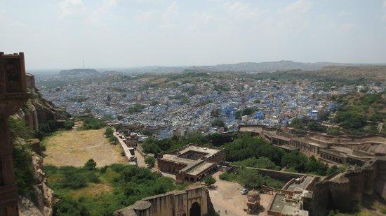 Mehrangarh Fort: ブルーシティ