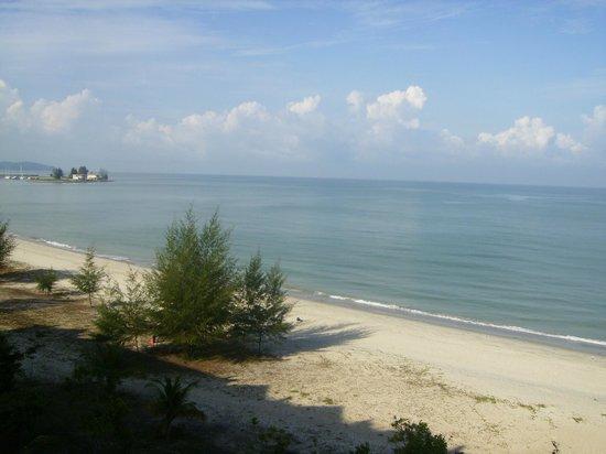 Bayu Beach Resort Port Dickson: my view from the balcony