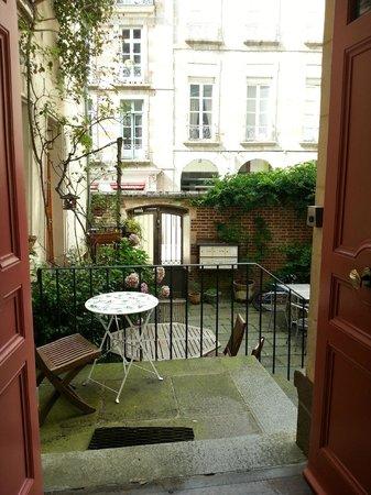 La Maison de Bertrand : terrasse