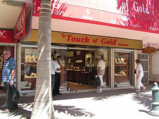 Touch of Gold Front Street St Maarten SXM Picture of Touch of