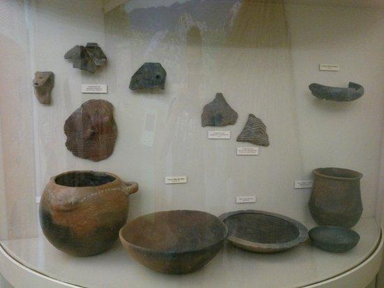 Palacio de Mondragon: Fragmentos variados del Neolítico.