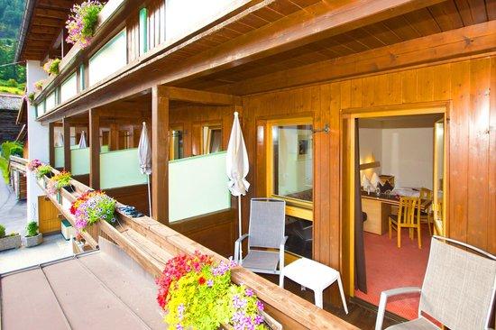 Hotel Garni Hainbacherhof: Balkon
