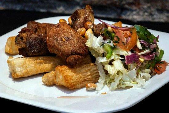 CHICHARRONES - Picture of Restaurante Peruano Andino ...