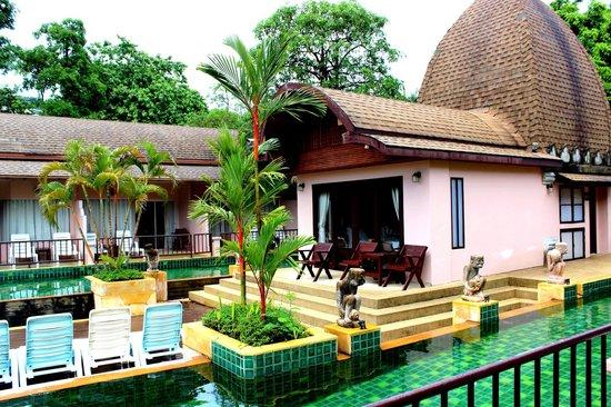 Phuket Kata Resort: Vu de notre chambre