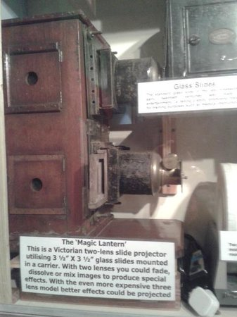Milton Keynes Museum: Magic lantern