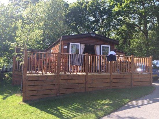 Haulfryn Finlake: Country Six VIP Platinum Lodge - External