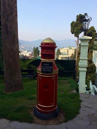 The Elgin, Darjeeling : elgin's post box