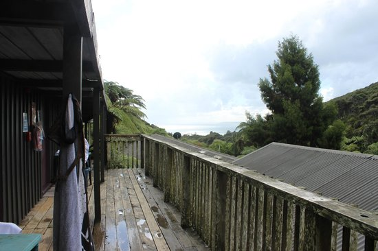 Karioi Lodge : View from our room