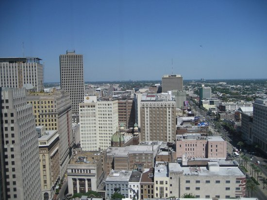 JW Marriott New Orleans : 29th floor view