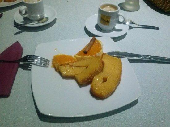 O Finalmente: Bolo de naranja