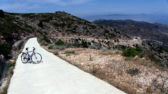 Bike2Malaga - Tours & Rentals: Mountains at Benalmadena
