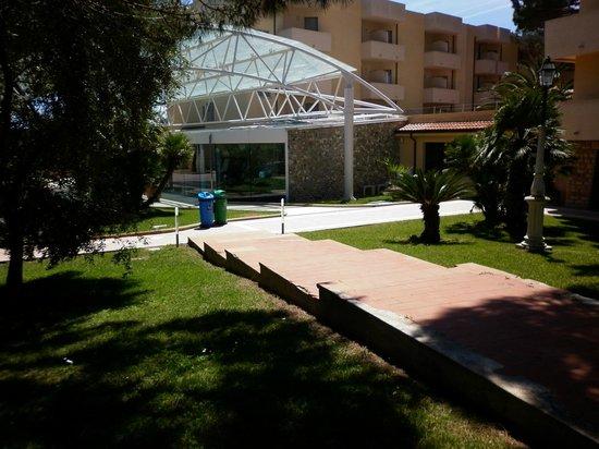 Park Hotel Marinetta : ingresso hotel