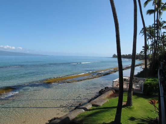 Maui Sands: Up the beach from Unit 5F