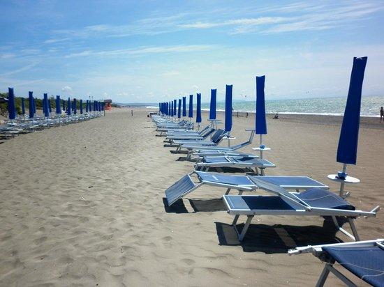 Park Hotel Marinetta : la spiaggia
