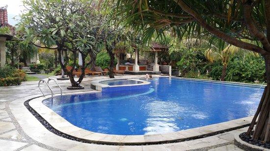 Arya Amed Beach Resort: the pool