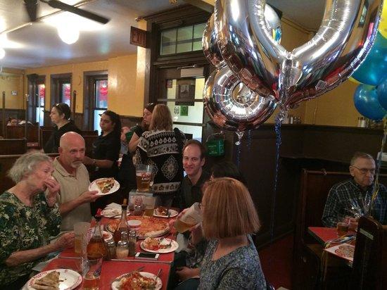Regina Pizzeria: 180th Birthday Party at Pizzeria Regina's