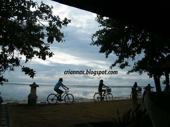 Peneeda View Beach Hotel: Veduta dal ristorante