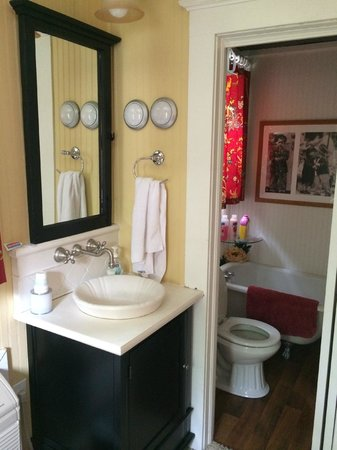 The Mary Geasland Guest House : Bathroom in the Apartment